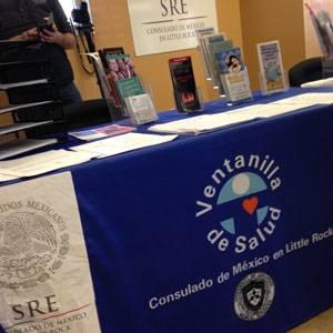 Ventanilla de Salud, Consulado de Mexico en Little Rock